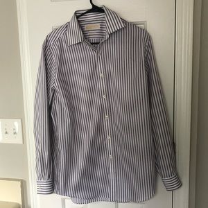 Pinstripe men's Michael Kors Dress Shirt